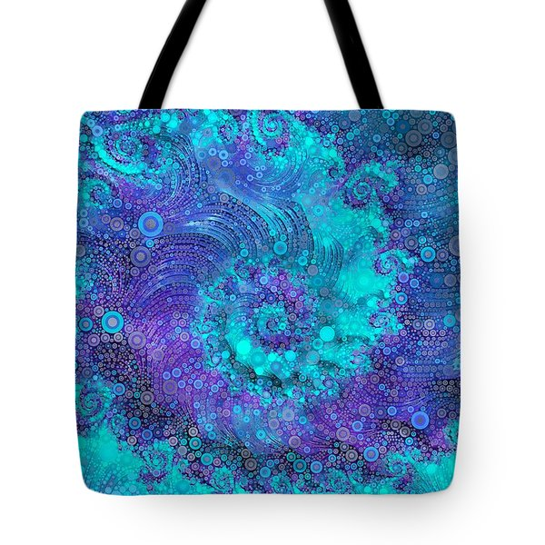 Where Mermaids Play Tote Bag