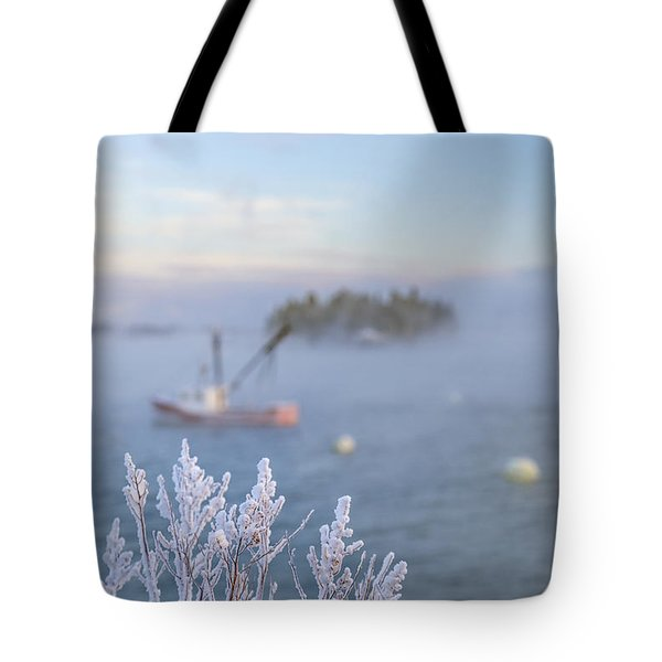 Where Morning Glories Grow Tote Bag