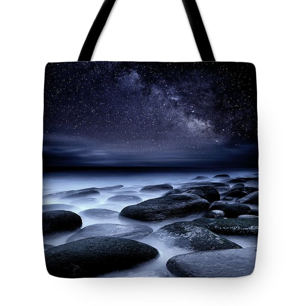 Where No One Has Gone Before Tote Bag