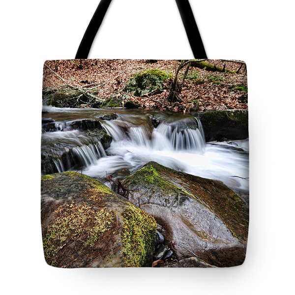 Where The River Flows Tote Bag by Paul Ward
