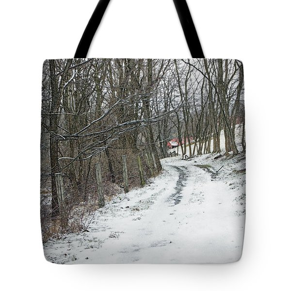 Where The Road May Take You Tote Bag by Photographic Arts And Design Studio