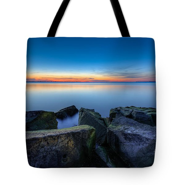 Where The Smooth Meets The Rough Tote Bag