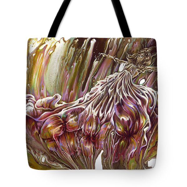 Where The Soul Takes Me Tote Bag by Karina Llergo