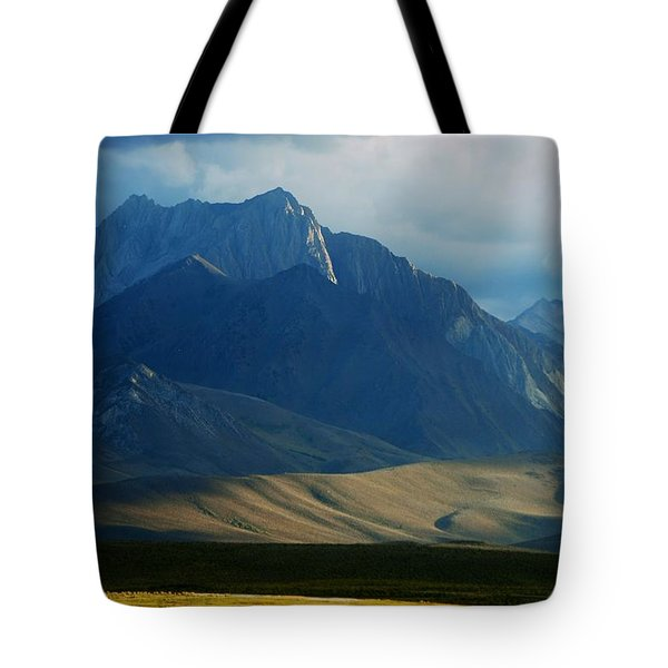 Where The West Commences Tote Bag