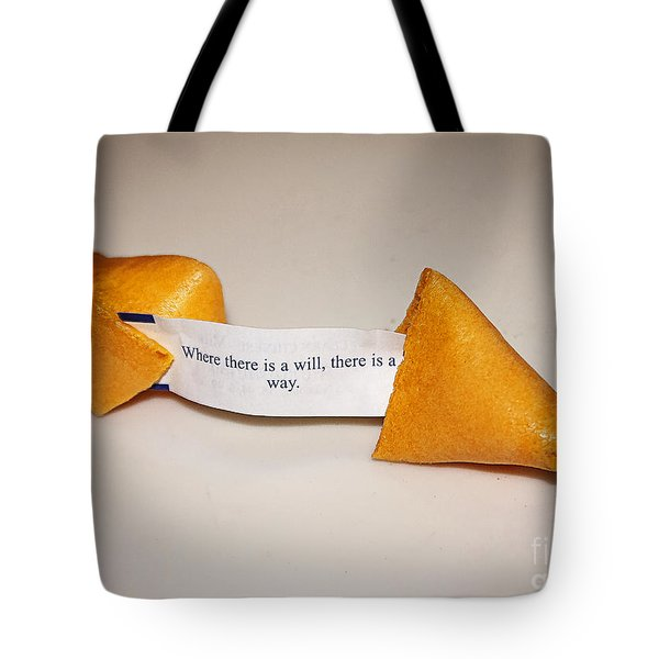 Where There Is A Way Tote Bag by Janice Rae Pariza