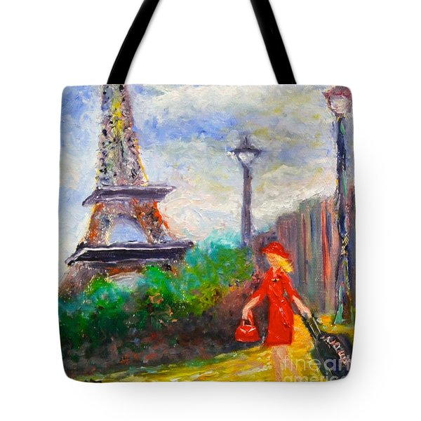 Where To .... Paris  Tote Bag