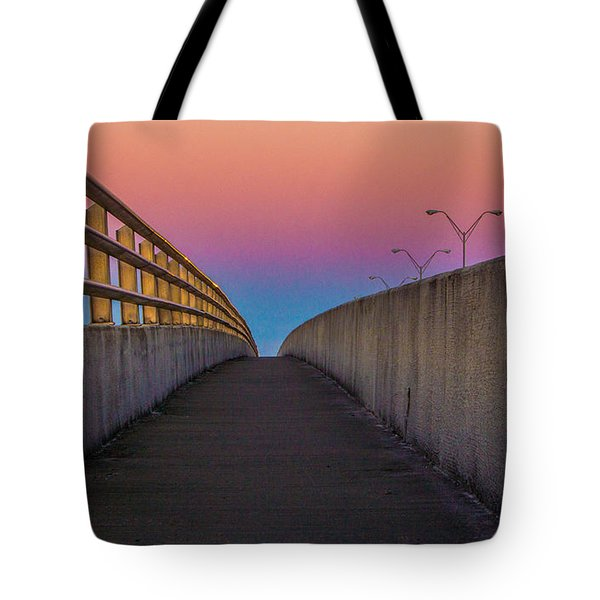 Tote Bag featuring the photograph Where Too by Tyson Kinnison