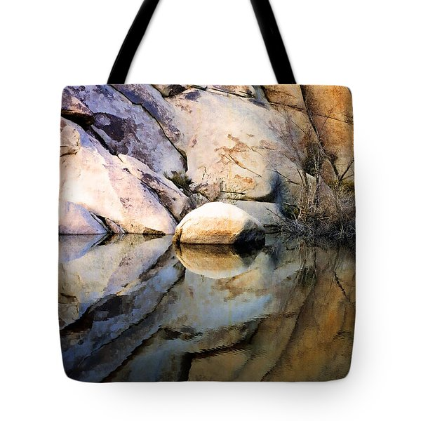 Where We Meet Tote Bag by Kathy Bassett