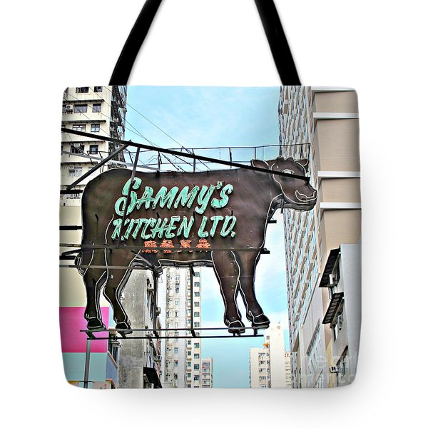 Where's The Beef Tote Bag by Ethna Gillespie