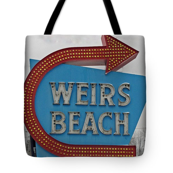 Where's Weirs? Tote Bag by Barbara McDevitt