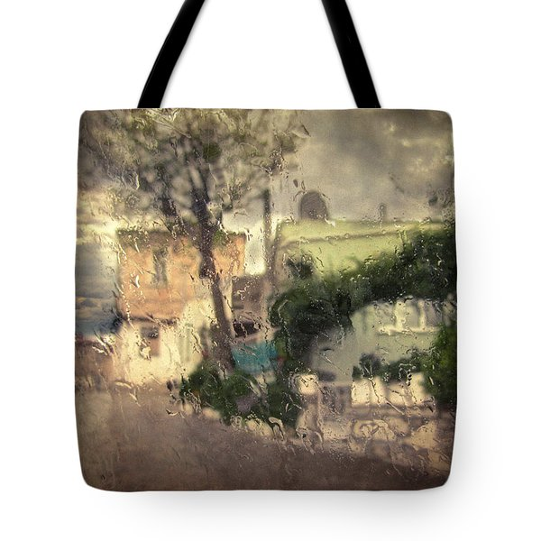 Wherever I Go Tote Bag by Taylan Apukovska