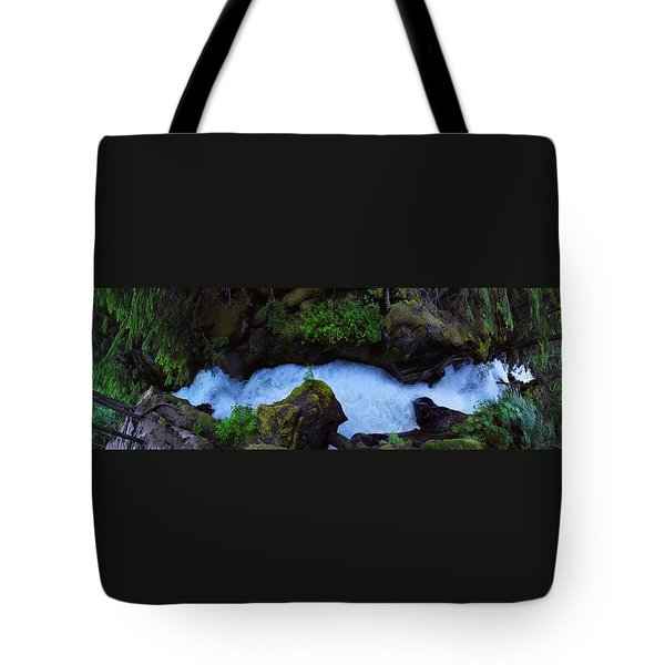Tote Bag featuring the photograph Which Way by David Andersen
