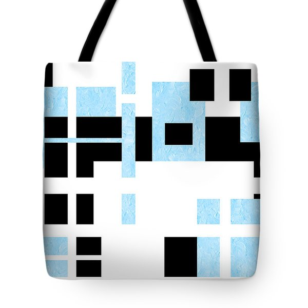 Which Way Is Up Painterly Abstract Tote Bag by Andee Design