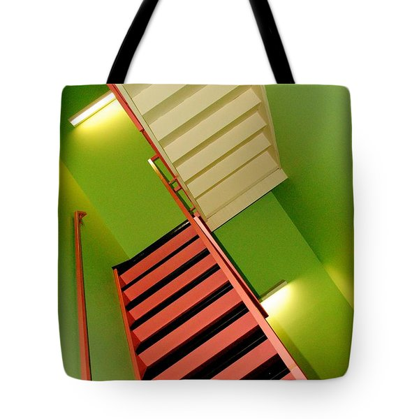 Which Way Is Up Tote Bag by Frozen in Time Fine Art Photography