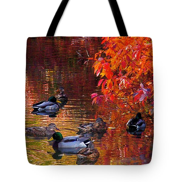 Which Way Tote Bag by Rona Black