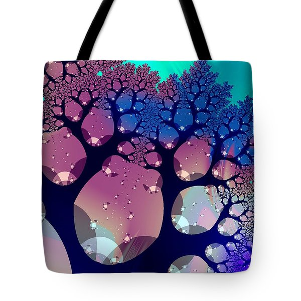 Whimsical Forest Tote Bag by Anastasiya Malakhova