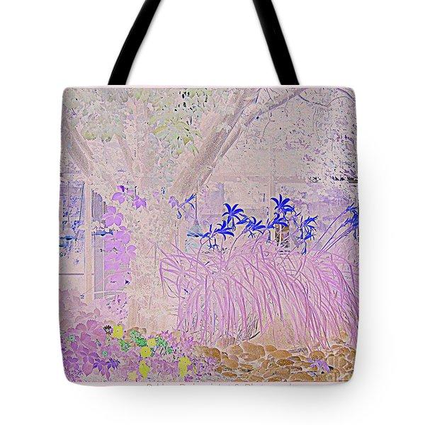Whimsical Garden Tote Bag by Bobbee Rickard
