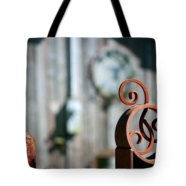 Whimsical Metal Tote Bag by Gwyn Newcombe