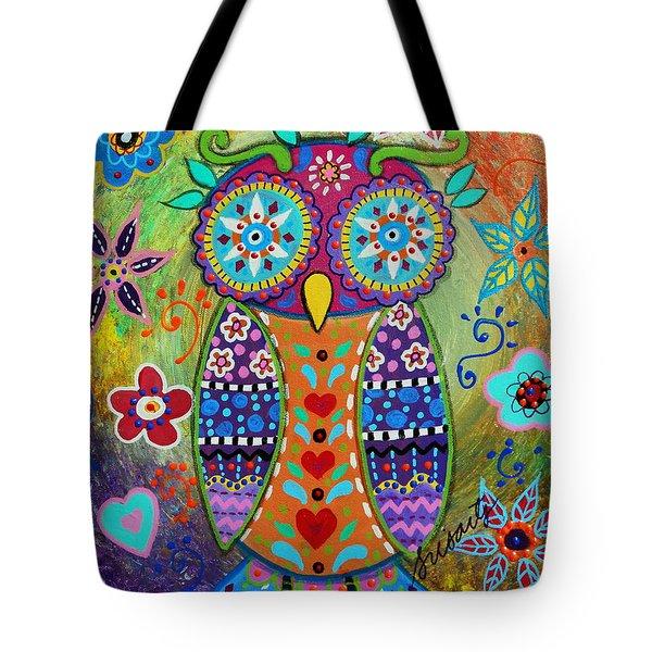 Whimsical Owl Tote Bag