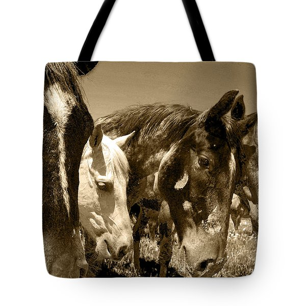 Whimsical Stallions Tote Bag