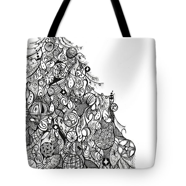 Whimsical Tree Tote Bag