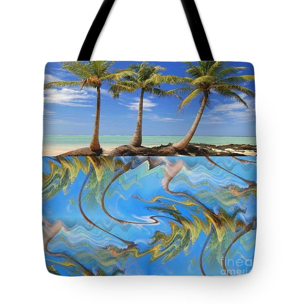 Whimsical Tropics Tote Bag by PainterArtist FIN