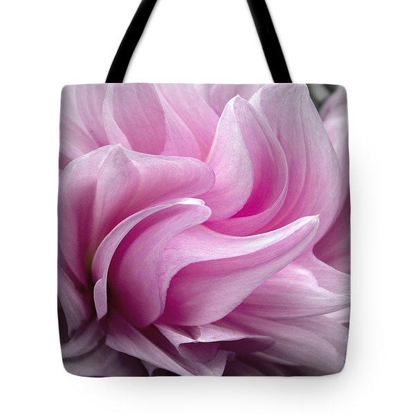 Whimsy Girl Tote Bag by Jean OKeeffe Macro Abundance Art