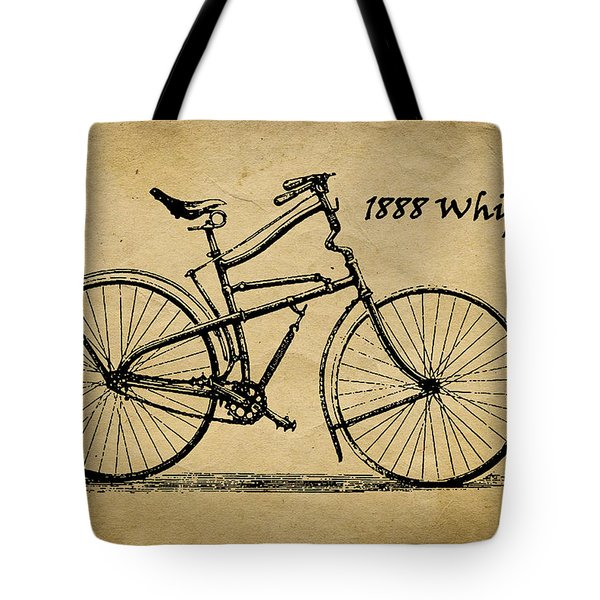 Whippet Bicycle Tote Bag