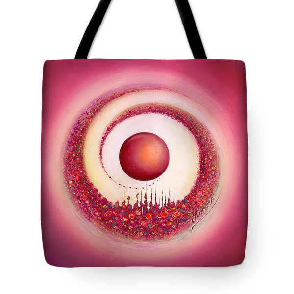 Whirl Of Creation Tote Bag