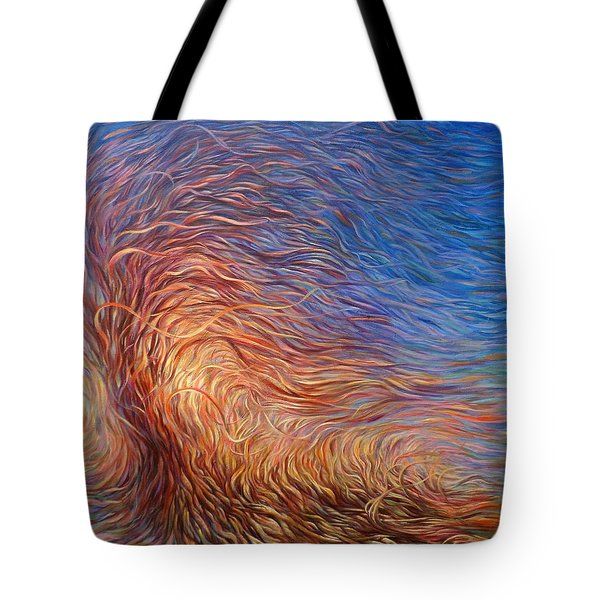 Whirl Tree Tote Bag