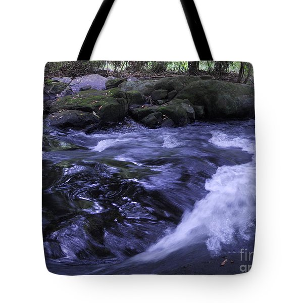 Whirls Tote Bag by Mini Arora