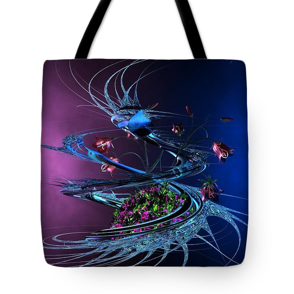 Whirlwind - Abstract Tote Bag