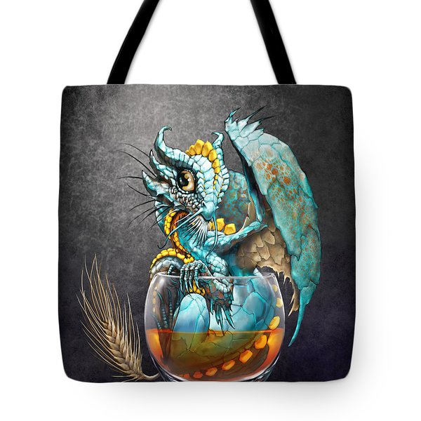 Whiskey Dragon Tote Bag