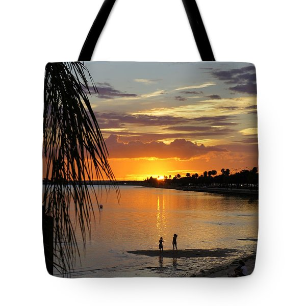 Tote Bag featuring the photograph Whiskey Joe's by Laurie Perry