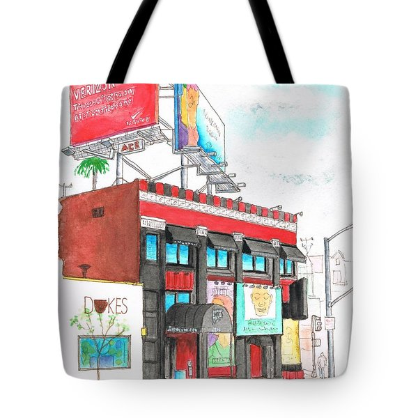Whisky-a-go-go In West Hollywood - California Tote Bag