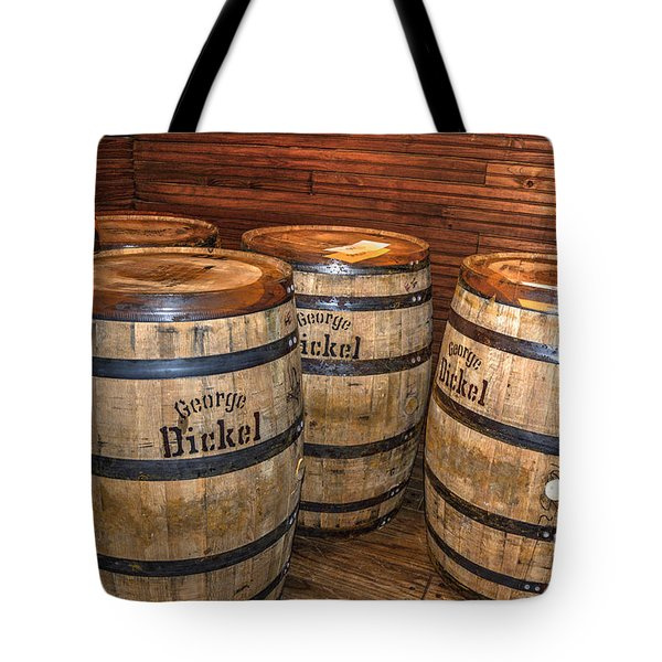 Whisky Barrels Tote Bag