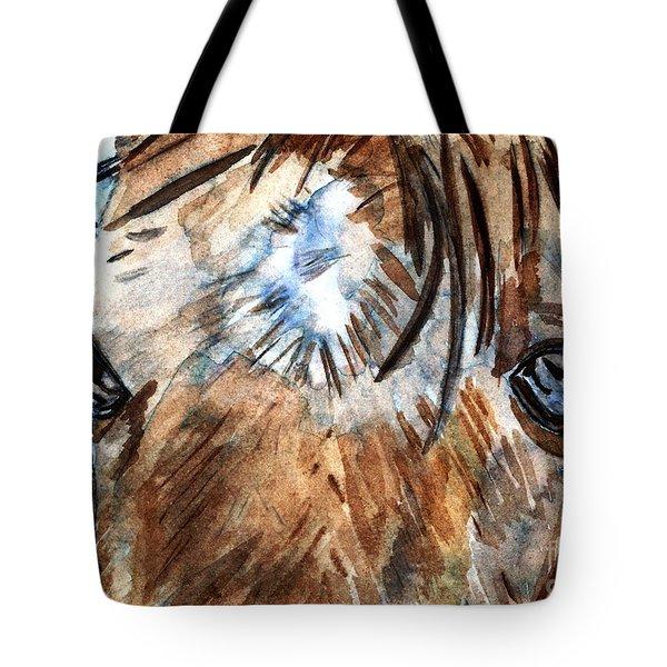 Whisper Tote Bag by Elizabeth Briggs