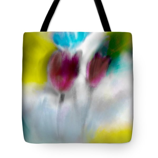 Tote Bag featuring the digital art Whisper by Frank Bright