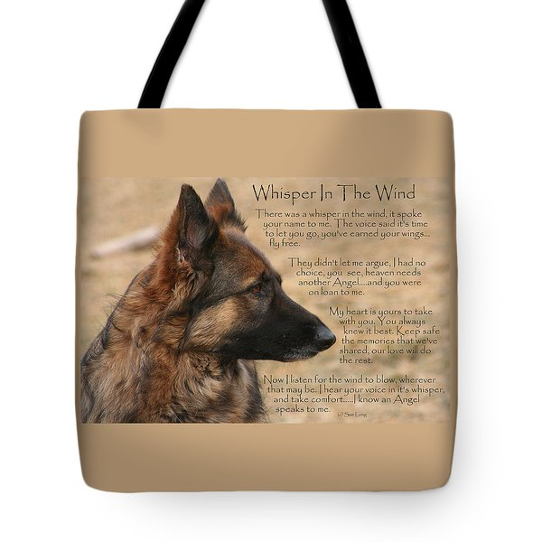 Whisper In The Wind Tote Bag