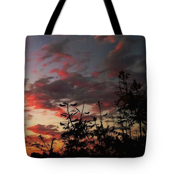 Whisper Of Evening Tote Bag