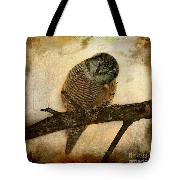 Whispered In The Sounds Of Silence Tote Bag by Heather King
