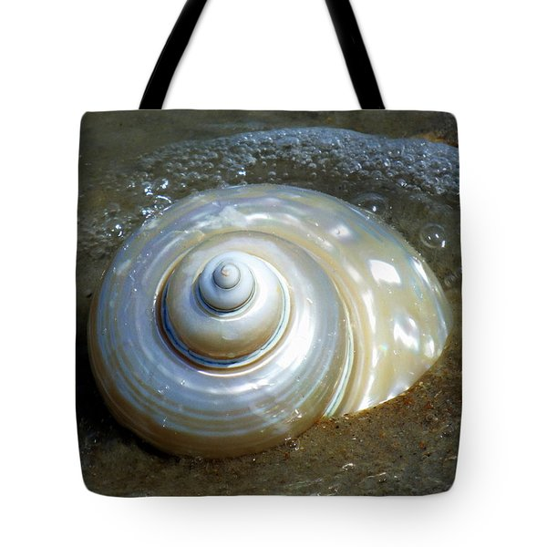 Whispering Tides Tote Bag by Karen Wiles