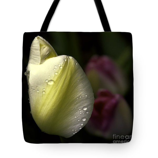 Whispering Tulips Tote Bag