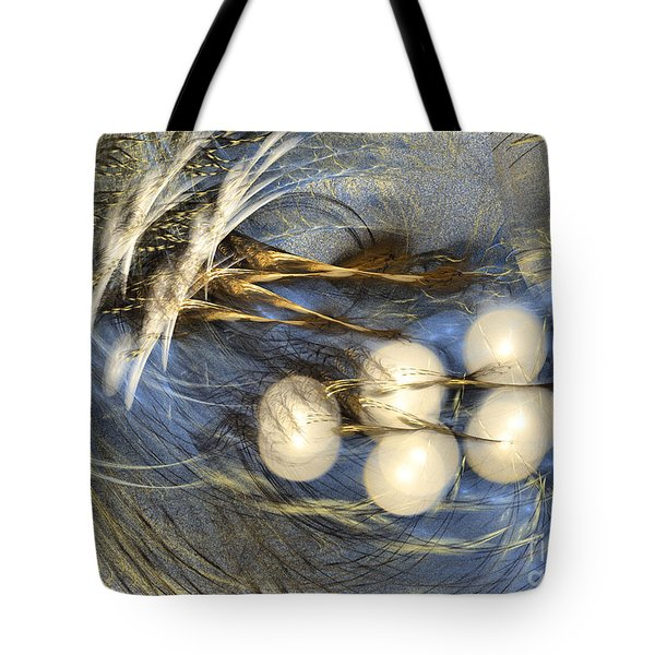 Whispering Wind - Abstract Art Tote Bag