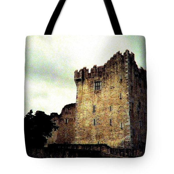 Whispers And Footsteps Tote Bag by Angela Davies