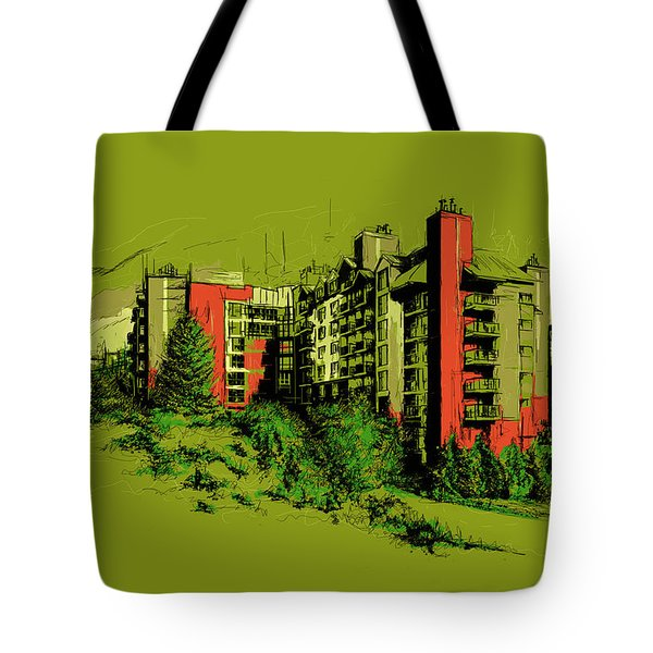 Whistler Art 003 Tote Bag by Catf