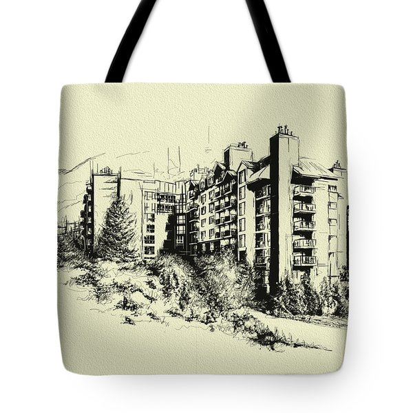 Whistler Art 007 Tote Bag by Catf