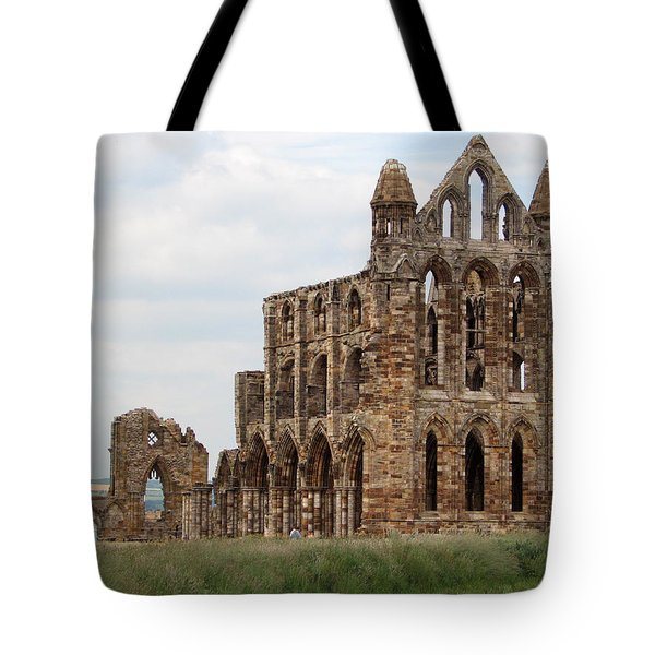 Whitby Abbey Tote Bag