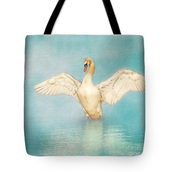 White Angel Tote Bag by Hannes Cmarits