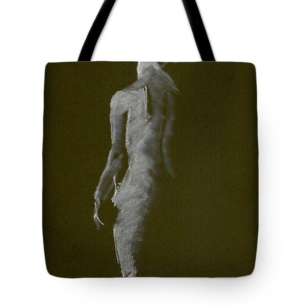White Back Tote Bag
